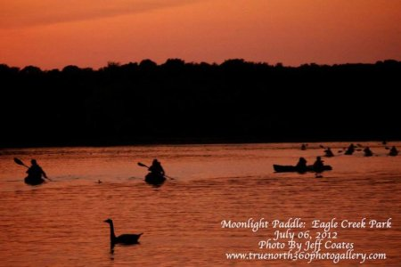 Eagle Creek Outfitters Guided Full Moon Paddle Program registration