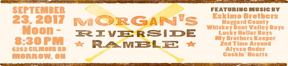 Morgan's Riverside Ramble 2017 header