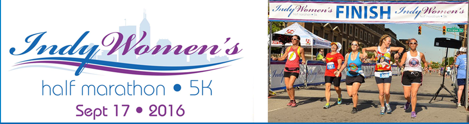 Indianapolis Women's Half Marathon and 5K - September 17, 2016