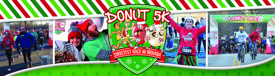 Donut 5K Holiday Run/Walk - 10th Annual header