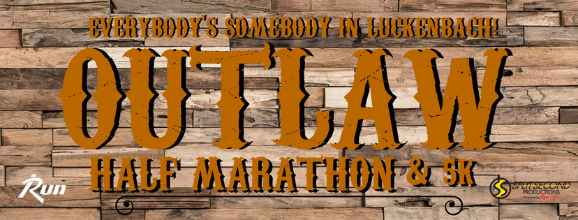 Outlaw Half Marathon and 5K header